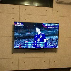 テレビの壁掛け設置
