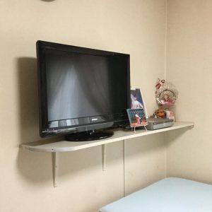 テレビ台施工後