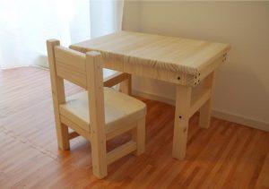 子供用テーブル椅子セット